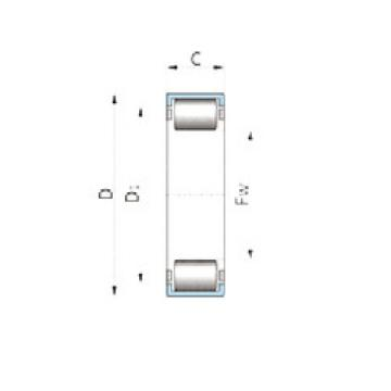 F-229056.1-60 INA Cylindrical roller bearing
