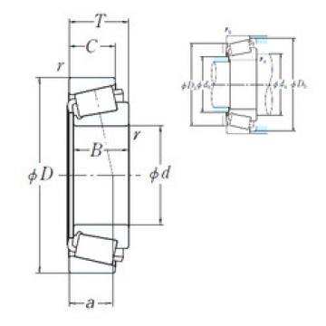 EE321145-N1/321240-N NK Cylindrical roller bearing