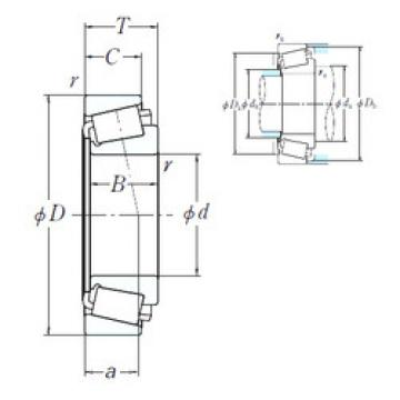 EE752305/752380 NK Cylindrical roller bearing