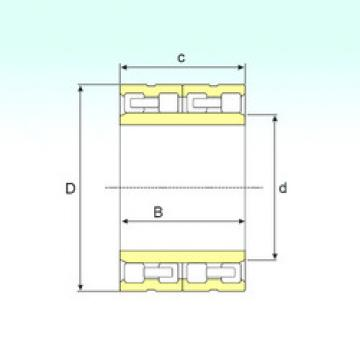 FC 3450170 IB Cylindrical roller bearing