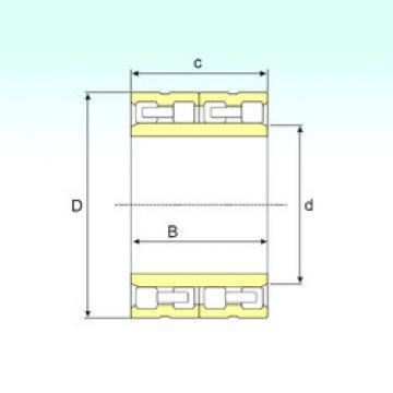 FC 80112300 IB Cylindrical roller bearing