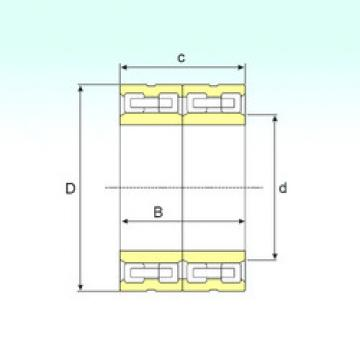 FCD 6692340 IB Cylindrical roller bearing