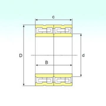 FCD 76108400 IB Cylindrical roller bearing