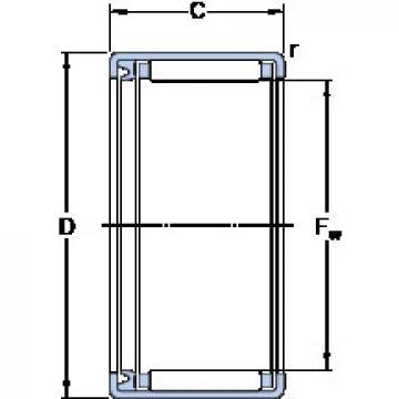 HK 1814 R KF Cylindrical roller bearing