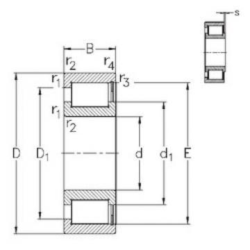 NCF29/500-V NKE Cylindrical roller bearing