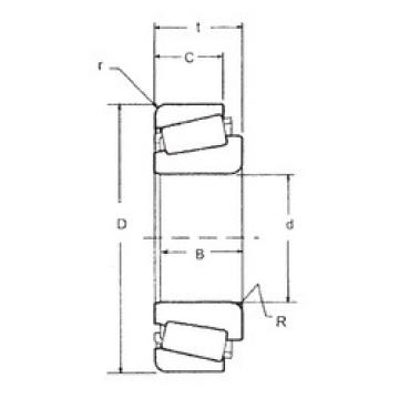 33013 FBJ Tapered Roller bearing